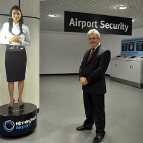 Birmingham Airport welcomes 'virtual assistant'